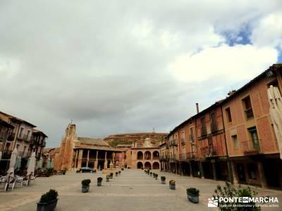 Hoces Río Riaza - Villa Ayllón; viajes con amigos turismo naturaleza españa